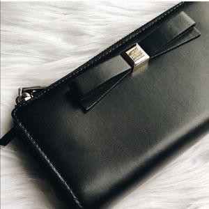 Kate Spade Bow Zipper Wallet